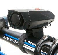 Wholesale Ultra Loud Cycling Horns Bike Bicycle MTB Handlebar Ring Bell Horn Siren Alarm