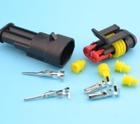 automotive electrical wire - kits Flame retardancy P auto connector waterproof automotive Wire Connector Plug Pins Electrical Car Motorcycle HID