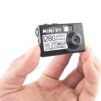 1280X960 La cámara más pequeña mini cámara mini DV 5.0Mega Videocámara digital HD de video audio ocultado DVR de detección de movimiento en caja al por menor