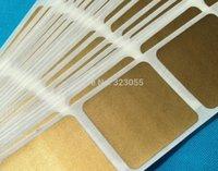 Wholesale 1000 PC Gold Scratch Off Labels Stickers X5 CM
