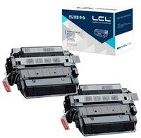 Wholesale LCL CE255X CE255 X X X Pack Toner Cartridge Compatible for HP Laserjet Enterprise P3015 P3015d P3015dn P3015x