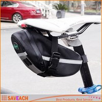 Wholesale New Arrival Outdoor Cycling Mountain Bike Bags Bicycle Saddle Bag Back Seat Tail Pouch Package