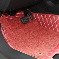 Wholesale Car Floor Mats Car Special Floor Mat Black Beige Wine Red Brown for Chevrolet Cruze
