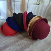 Wholesale Pure wool cap Roll round hat cap small volume all men and women Winter Hat there have two models one for children the another for adult