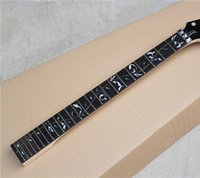 Wholesale 6 String Electric Guitar Neck with Flower Fret Marks Inlay Rosewood Fretboard Can be Customized as Request