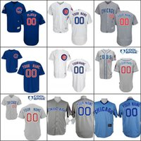 baseball world - 2016 World Series patch Customized Chicago cubs Jerseys Custom Baseball Jersey Cool base Stitched Personalized cubs jerseys size S XL