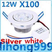 Dimmable 12W CREE LED empotrados Focos LED de alta potencia Lámpara de techo ilumina CA 110-240V UL del CE SAA CSA Garantía 3 años
