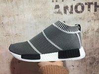 women footwear - nmd City Sock S79150 Men And Women Shoe NMD CS1 City Sock PK Core Black Vintage White Ftwr White Casual Sports fluoresce Shoe Footwear
