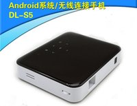 Wholesale 854 Pixel DLP Mini Projector Portable WIFI handy phone projector Andrews smart projector