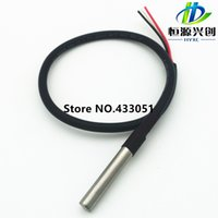 Wholesale Digital Temperature Sensor Probe DS18B20 For Thermometer cm Waterproof Digital signal output