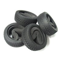airplane tyre - 4pcs OD m Rubber Tires Tyre with Foam for RC Off Road Car Buggy Crawler