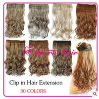 Wholesale 2016 Most Popular Stylish Thick hair extension piece Fashion Long curly hair waves roll
