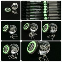 alien types - Alien Fused Clapton Flat Mix Twisted Hive Quad Tiger Heating Wires Different Types Premade Wrap Resistance Wire Coils for RDA RBA DHLFree