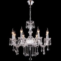antique dinning - For Foyer living room bedroom dinning room lucid modern vintage V V V V transparent antique crystal chandelier