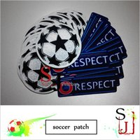 Wholesale UCL champions leaga patch ball respec soccer patch soccer Badges
