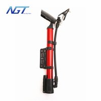 Wholesale NGT New Arrival Portable Bike Bicycle Tire Inflator Air Pump New mini pump colors