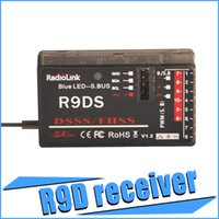 Wholesale Original RadioLink R9DS Upgrader R9DS G CH DSSS Receiver For RadioLink AT9 AT10 Transmitter RC Helicopter Multirotor