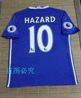 Wholesale Best Quality Chelsea jerseys HAZARD home bule Away White Third Black PEDRO PATO ZOUMA DIEGO COSTA WILLIAN football shirts