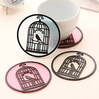 Wholesale 5PCS Cute Birdcage Silicone Slip Caosters Assorted Color