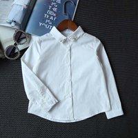 best white blouses - Girls Tops Blouses Kid Best Shirts Children Clothes Kids Clothing Autumn Long Sleeve T Shirts Korean Girl Dress White Shirt Ciao C27815
