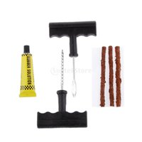 auto quad bike - Motorcycle Car Auto Tubeless Tyre Tire Repair Kit Scooter Quad Bike Fixing Tools Driving Necessity Puncture Plugs