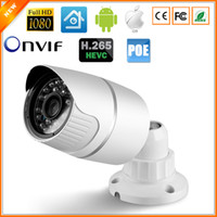 Wholesale H Video Surveillance MP IP Camera HI3516D AR0237 Metal Material Outdoor Bullet Camera DC V V PoE Version Optional