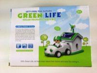 Wholesale Funny Solar toy Let s Feel the Future Green Life Solar Rechargeable Kit toys age
