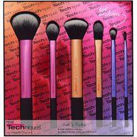 blush brush - 6Pcs Pro Techniques Makeup Brush Sets Kit Cosmetic Foundation Brush Loose Powder Blush Eyeshadow Make Up Brushes Beauty Tools