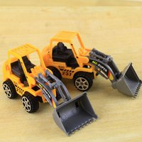 bicycle figure - Bulldozer Truck Engineering Car Building Blocks Brick Toy Model Figure Gifts Boy A00018 BRE