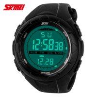 acrylic auto sales - Hot sale New Skmei Brand Men LED Digital Military Watch M Dive Swim Dress Sports Watches Fashion Outdoor Wristwatches