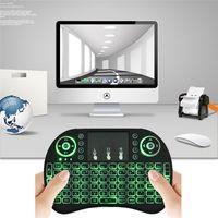 backlight gaming keyboard - Rii mini i8 G Wireless English Backlight Keyboard TouchPad Mouse Backlit Gaming Keyboard For MXQ Pro K M8S Pro T95m Mini PC