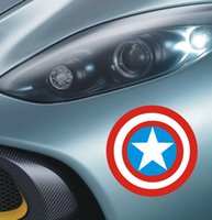 bathroom wall covering - Captain America Car Stickers Decoration tank cover Sticker Removable cm