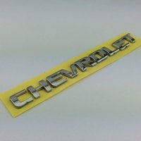 Wholesale Car D Emblem Letter For Che vrolet Trunk Badge Rear Sticker ABS x1 cm Auto Accessories For Chevy Cruze Stickers Decal