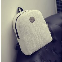 Wholesale New female bag quality pu leather women bag Korean version sweet bow College Wind mini backpack