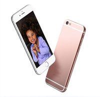 2016 GooPhone i6s i6 Plus 5.5inch 1: 1 de doble núcleo MTK6572 Android 4.4 Mostrar 1 GB / 64 GB 2G llamada de teléfono de 4G Mostrar i6s desbloqueados + Móvil