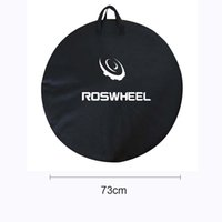 bicycle carrier accessories - ROSWHEEL cm Bicycle Cycling Road MTB Mountain Bike Single Wheel Carrier Bag Carrying Package Bike Accessory