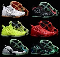 air penny mens - Foamposites Pro Penny Hardaway Mens Shoes black Green Red White Original Air Foamposite One Shoes For Men Basketball Sneakers free