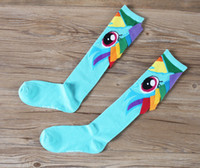 Wholesale 2016 New Creative handmade Sports socks My Little Pony kids Socks Baby Girl Socks Middle Tube Kids Socks Cartoon girls socks