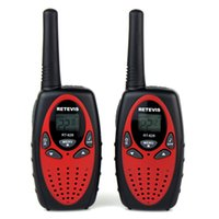 Wholesale 2 RETEVIS RT628 New Red Walkie Talkie W UHF USA Frequency MHz CH Portable Two Way RadioThis item is suitable for short dista