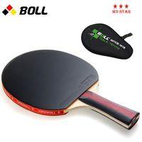 Wholesale Quality TIMO BOLL table tennis racket pat Original with racket bag PINGPONG paddle In penholder handshake