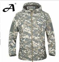 Wholesale Army jacket Coat Military Jacket Waterproof Windbreaker Raincoat Hunting Clothes Army Jacket Men Outdoor Jackets And Coats