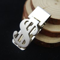 money clips - 30pc Dollar Design Slim Money Clip Stainless Steel Cash Bills Credit Card Holder retail