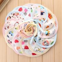 Wholesale Cute Baby Bib Infant Saliva Towel Burp Cloths Cotton Unisex Absorbent Adjustable Bib