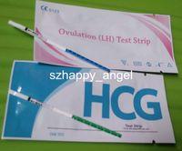 Wholesale FDA CE mIU ml Urine HCG Pregnancy Test Urine LH Ovulation Test Fast Rapid Test