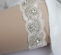Wholesale Crystal Beaded Lace Belts for Bridal Real Images Pure White Wedding Accessories Beautiful Wedding Belts Pieces