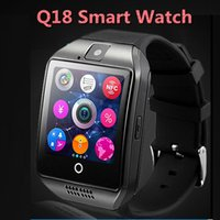 age curve - 2016 Smart Watch Q18 Bluetooth Wearable Curved Screen Touch High Quality Support For Android and IOS Phone Wristwatch DHL