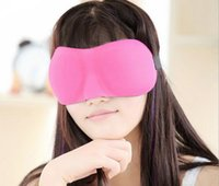best sleeping eye mask - Best Price High Quality Trave Sleep mask Rest D Sponge EyeShade Sleeping Eye Mask Cover Patch Blinder for health care eye mask