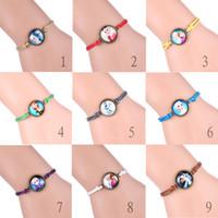american queen bracelet - Frozen Bracelets frozen queen retro wax rope bracelet bracelet single time Gemstone Bracelet Frozen Bracelet Anna Elsa Princess Bracelet