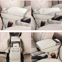 Wholesale Car Armrest Case For Ford Focus Armrest Central Store Content Storage Box With Cup Holder Ashtray