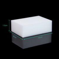 Wholesale 10PCS White Magic Sponge Eraser Melamine Cleaner Multi Functional Kitchen Bathroom Cleaning Tools Nano Sponge New Arrival price